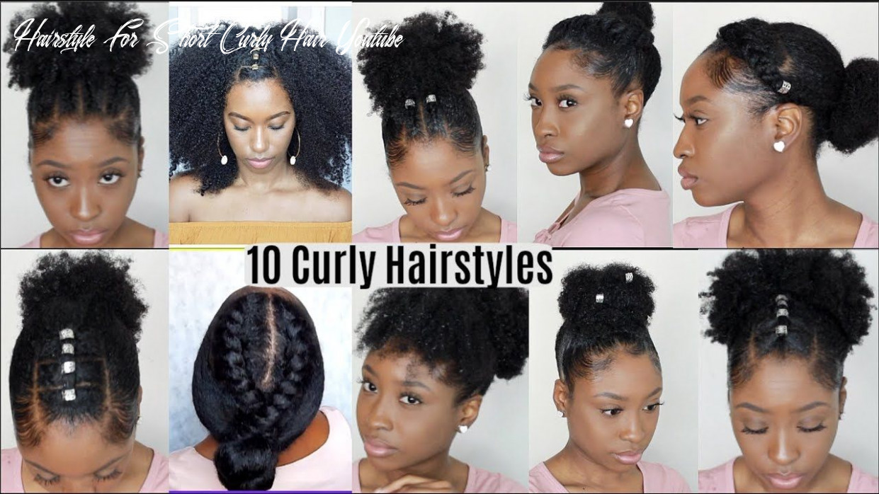 8 quick easy hairstyles for natural curly hair | instagram