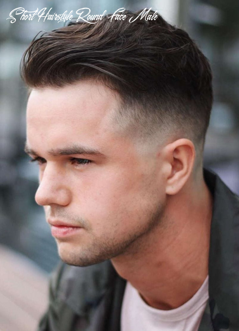 8 selected haircuts for guys with round faces short hairstyle round face male