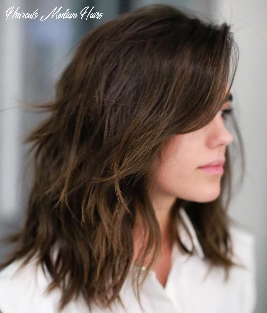 8 sensational medium length haircuts for thick hair | frisuren