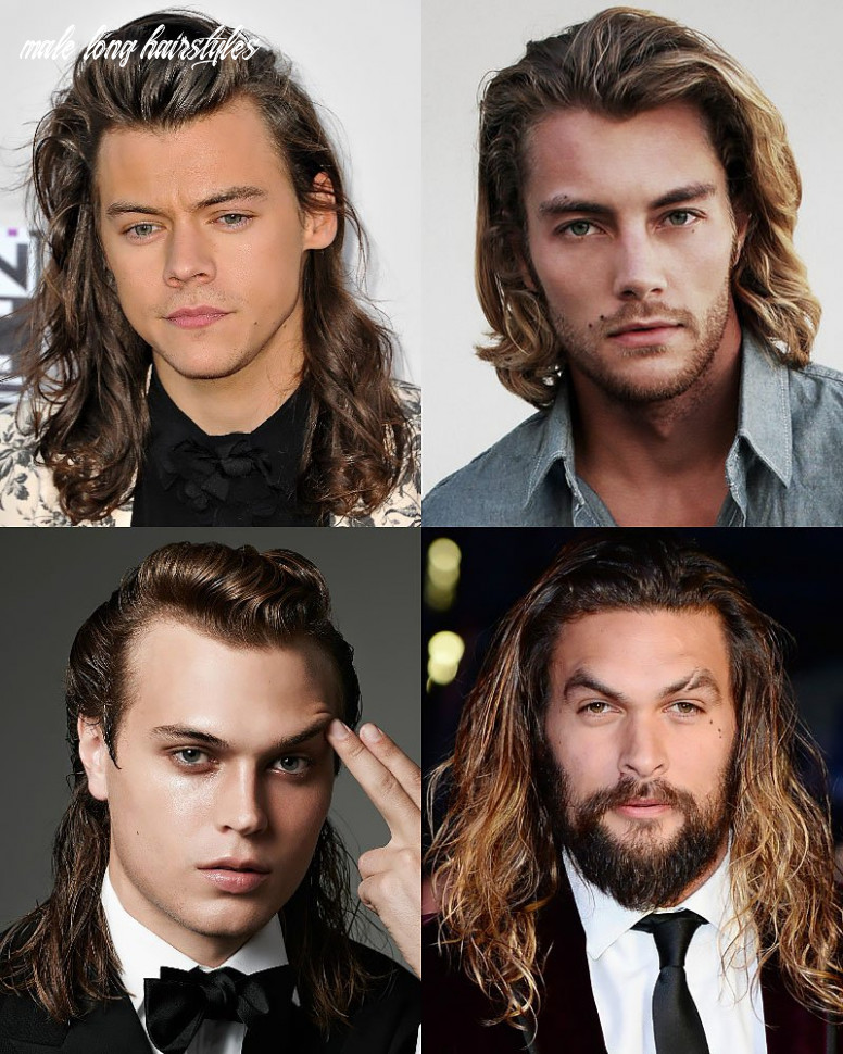 8 sexy long hairstyles for men the trend spotter male long hairstyles