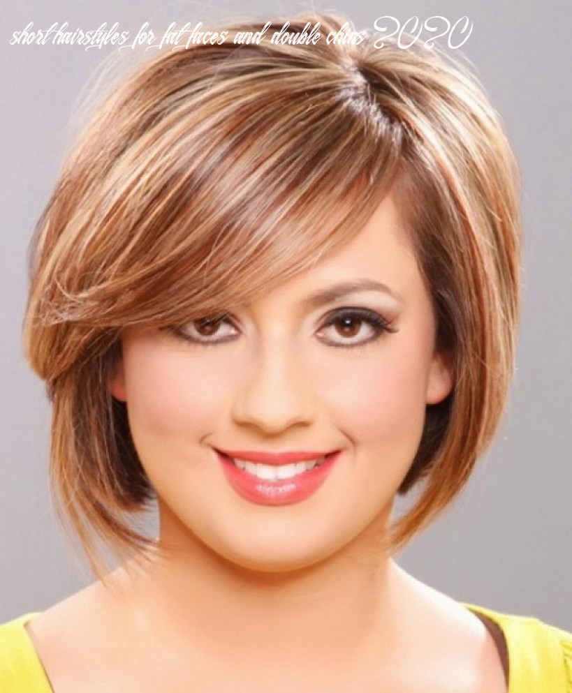 8 sexy short hairstyles for fat faces & double chins 8 to look