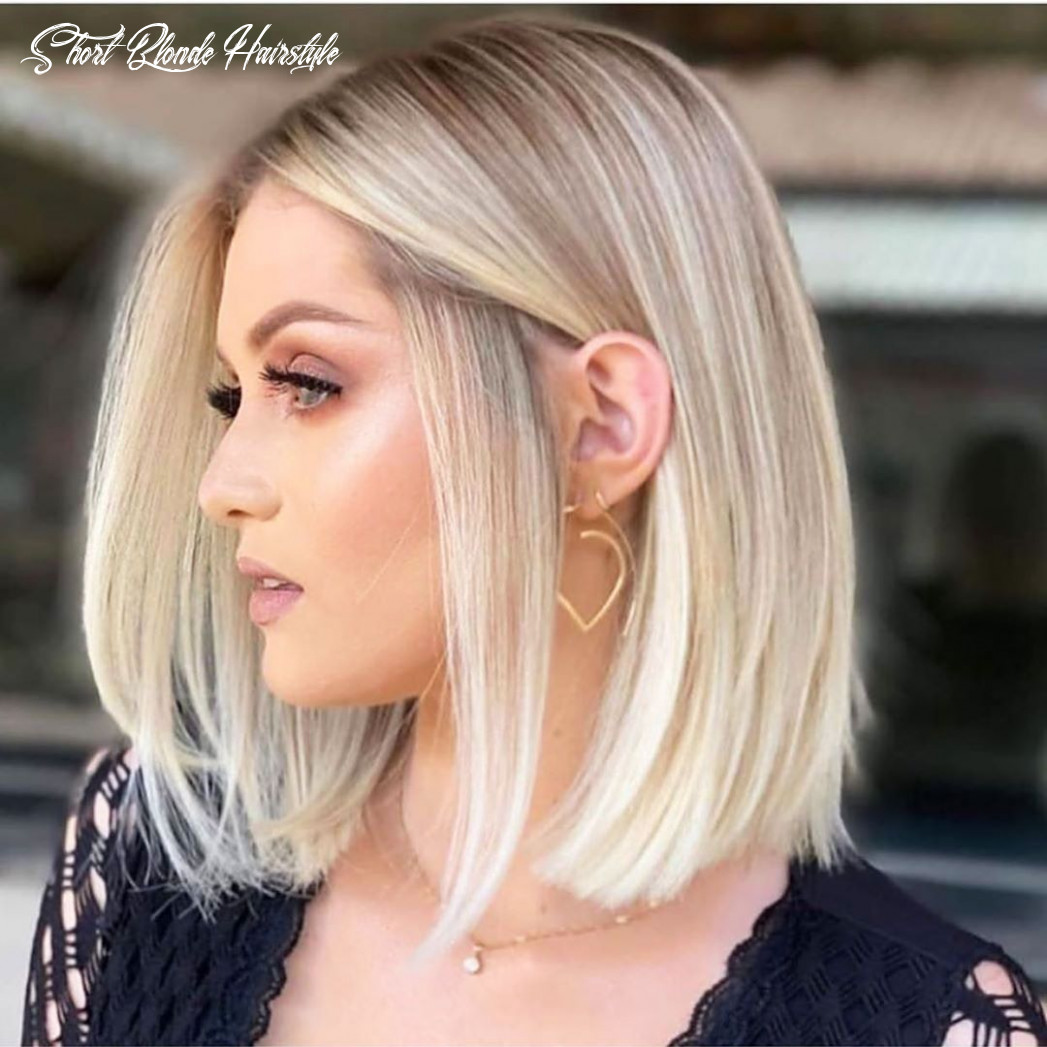 8 Short Blonde Hairstyles For Women | Thick hair styles, Short ...