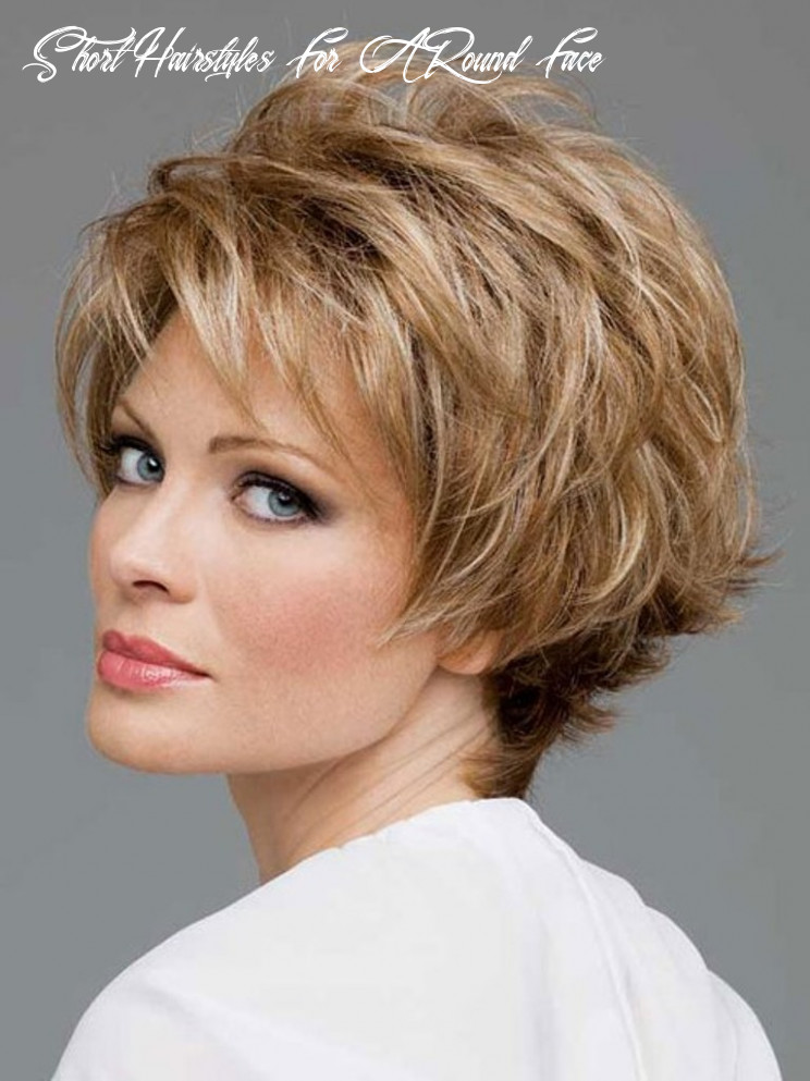 8 short hair trends for round faces chosen for 8 | pouted