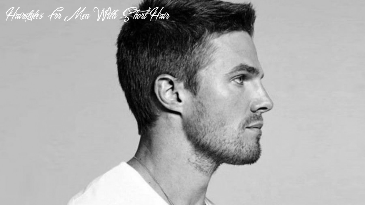 8 short haircuts & hairstyle tips for men | man of many hairstyles for men with short hair