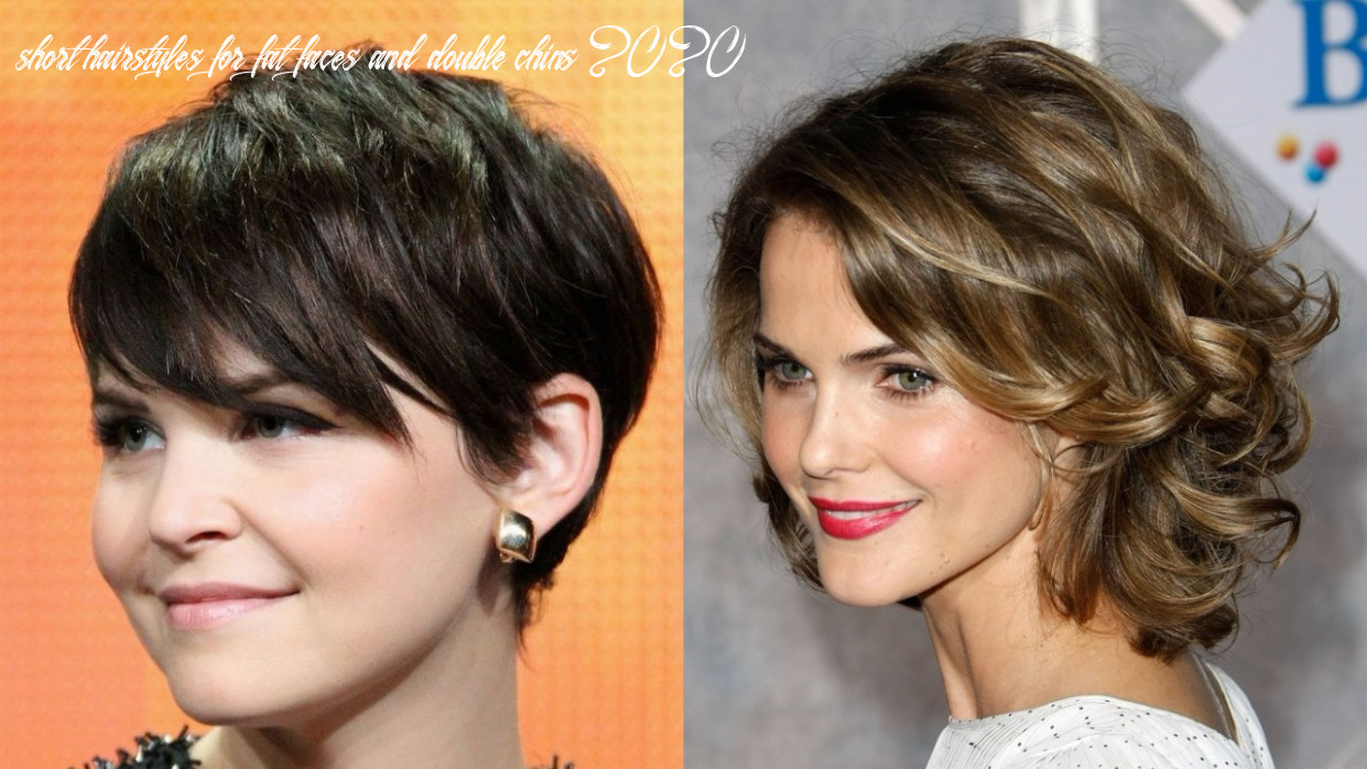 8 short hairstyles for double chin faces | hairdo hairstyle short hairstyles for fat faces and double chins 2020