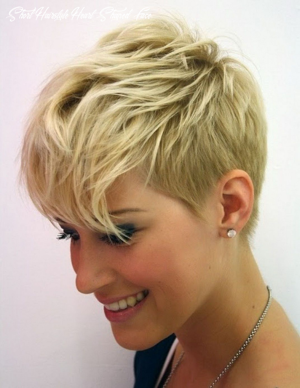 8 short hairstyles for heart shaped faces in 8 | thin fine