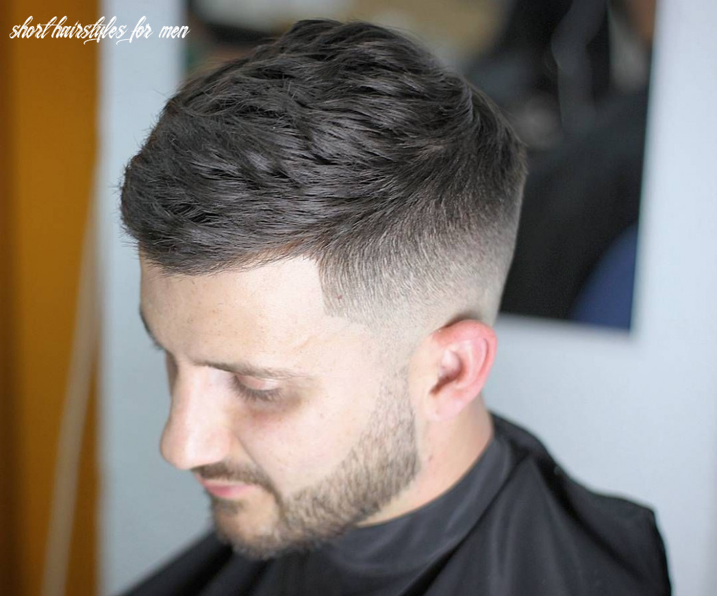 8 short hairstyles for men (8 styles) | mens haircuts short