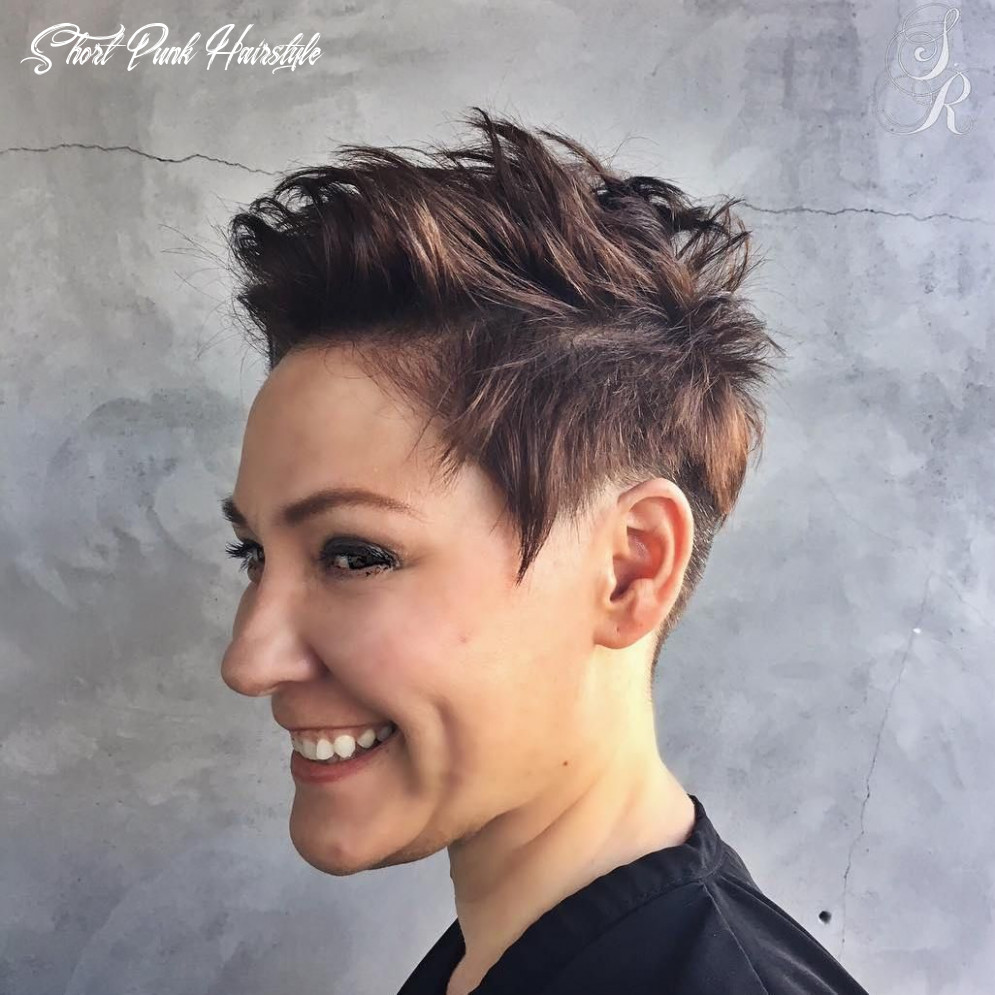 8 Short Punk Hairstyles to Rock Your Fantasy in 8 | Short punk ...