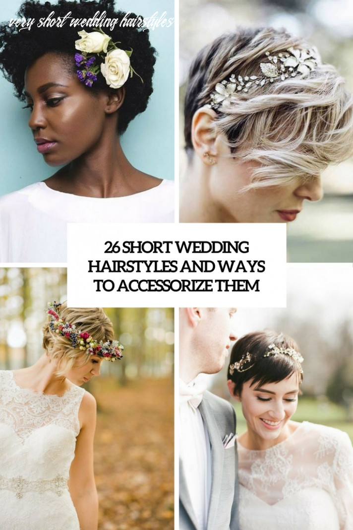 8 short wedding hairstyles and ways to accessorize them
