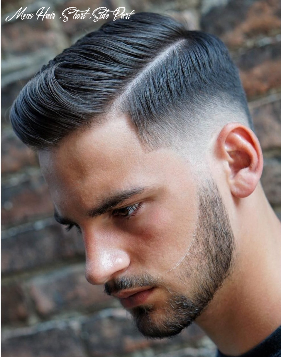8 side part haircuts: 8 styles that are cool modern mens hair short side part