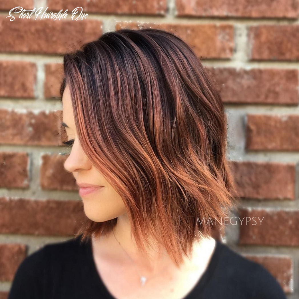 8 stunning balayage hair color ideas for short hair 8 short hairstyle dye