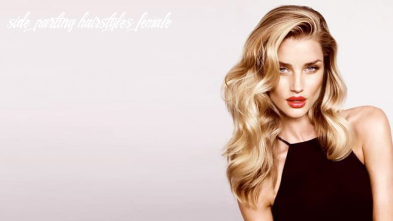 8 stunning deep side part hairstyles the trend spotter side parting hairstyles female