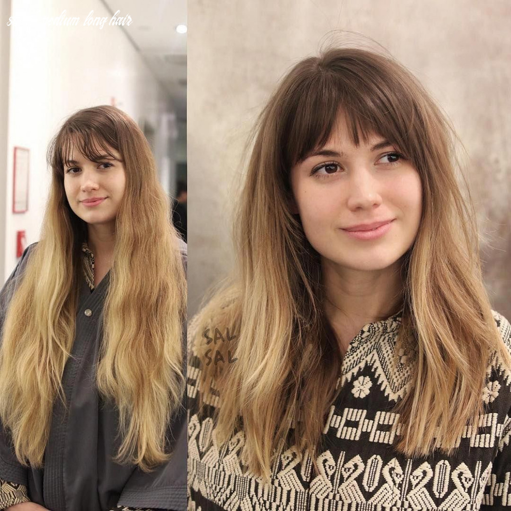 8 stunning hairstyles & haircuts with bangs for short, medium