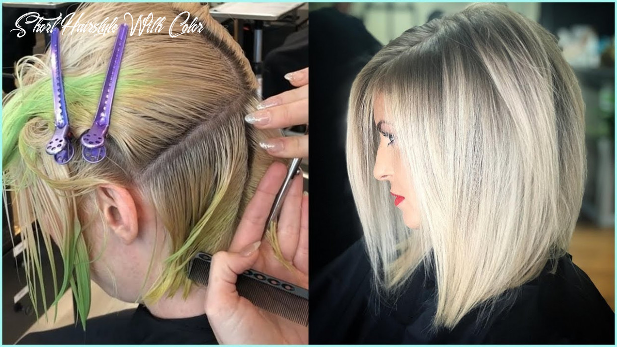 8 stunning short haircut and color transformation for women 😱 best haircuts & hairstyles short hairstyle with color