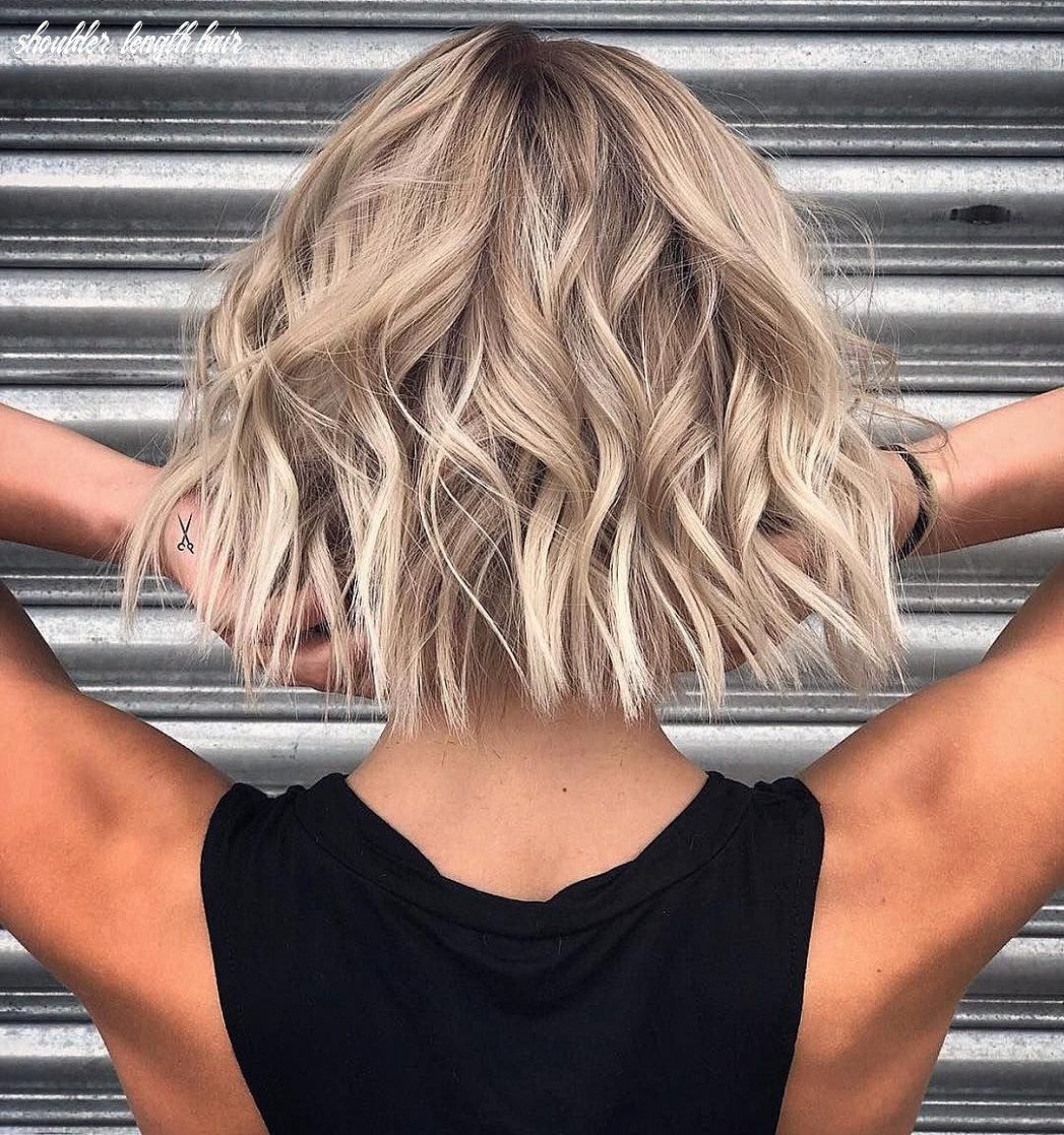 8 stylish lob hairstyle ideas, best shoulder length hair for