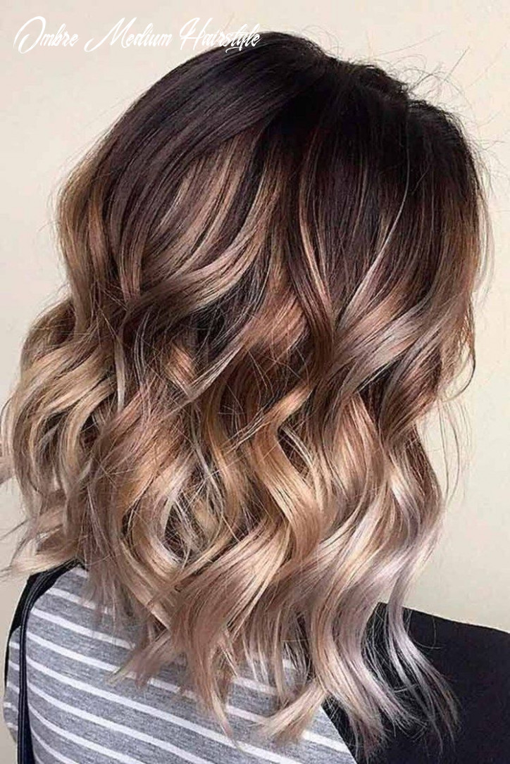 8+ Stylish Medium Ombre Hairstyles Ideas For Women This Year ...