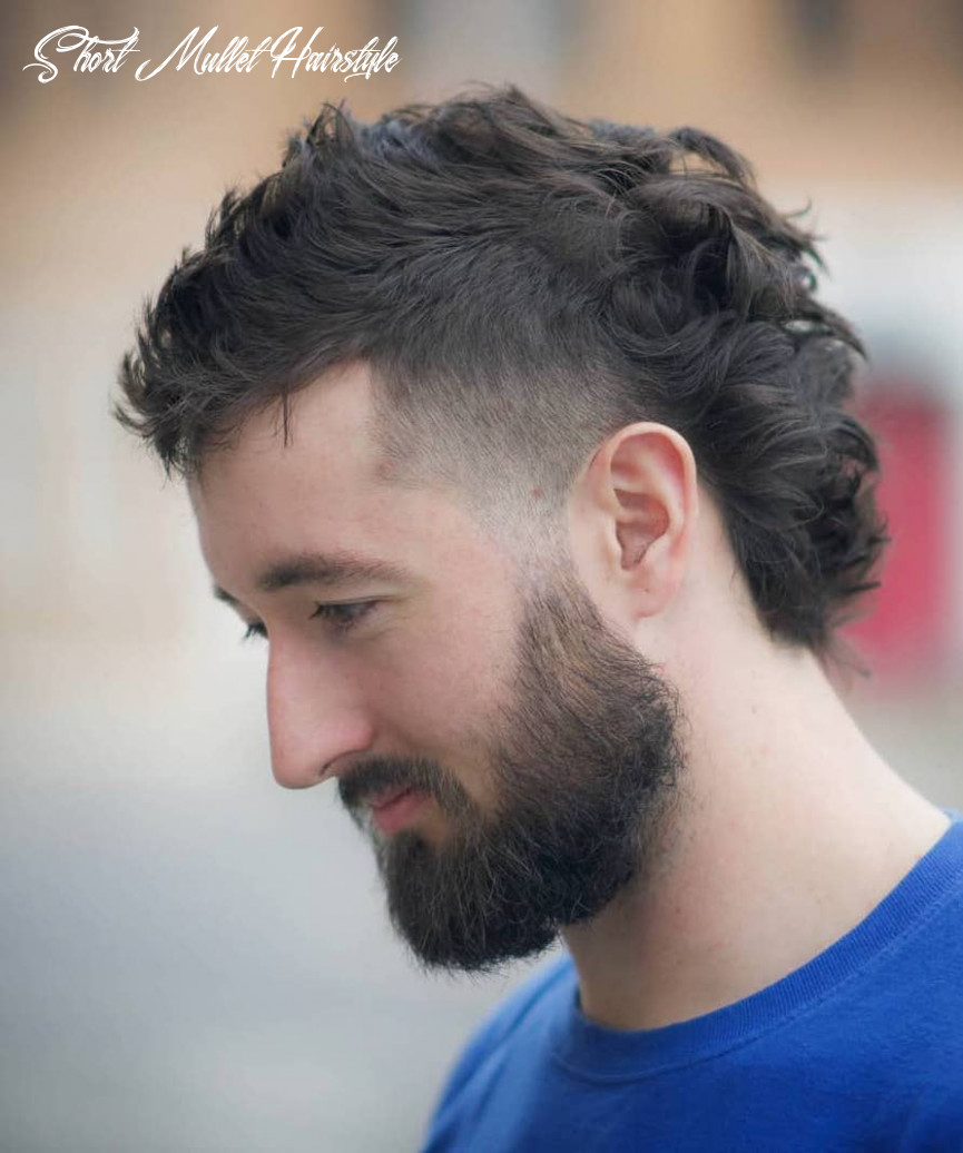 8 stylish modern mullet hairstyles for men short mullet hairstyle