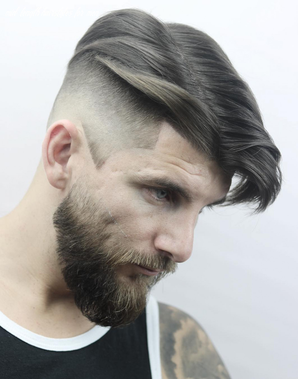8 the best medium length hairstyles for men mid length hairstyles for men