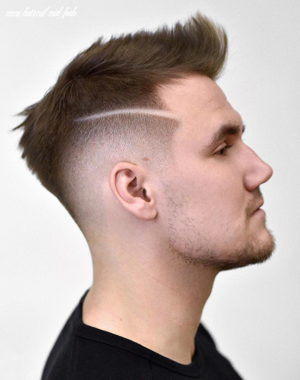 8 the most fashionable mid fade haircuts for men mens haircut mid fade