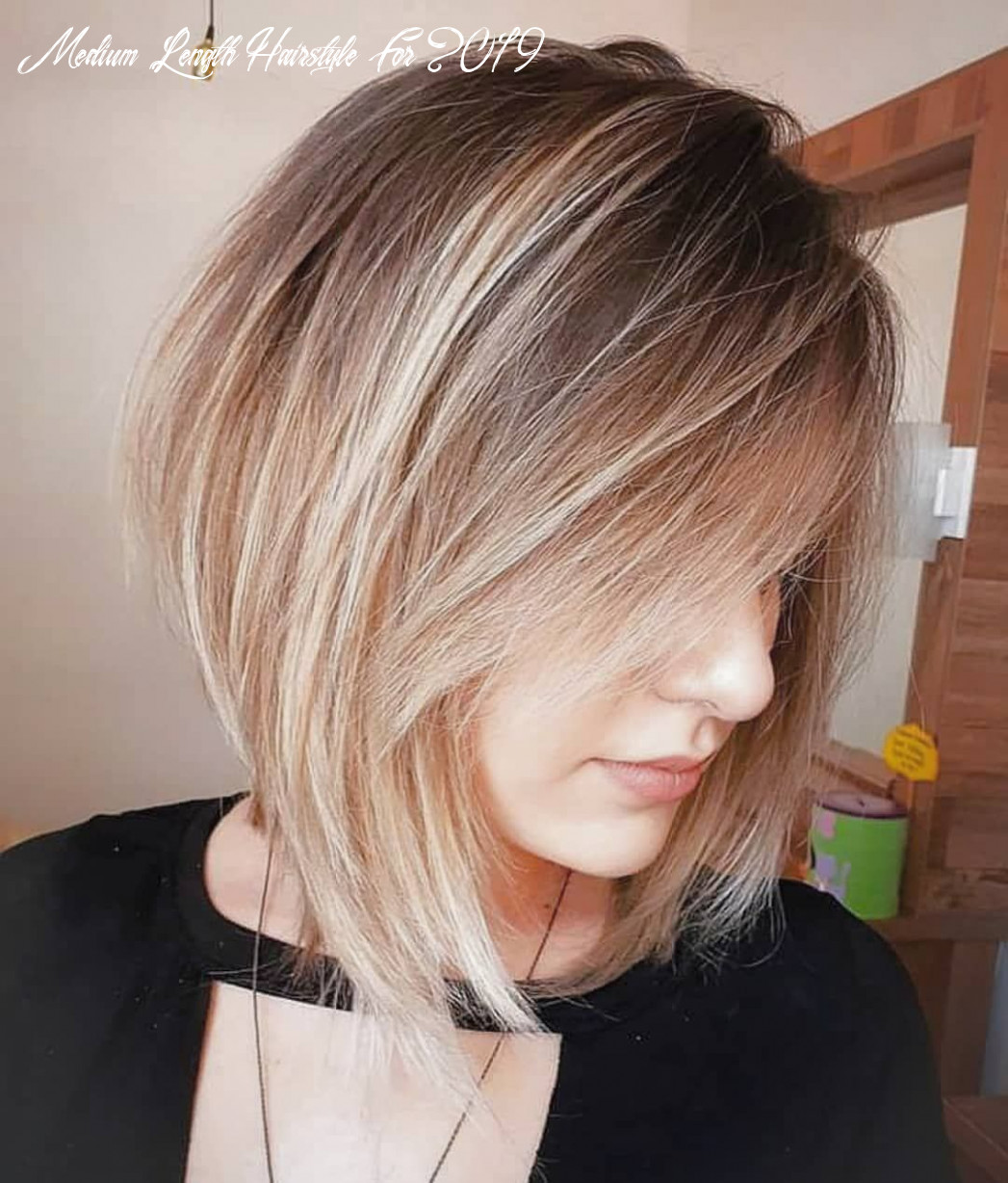8 Trendy Choppy Lob Haircuts for Women, Best Medium Hair Styles ...