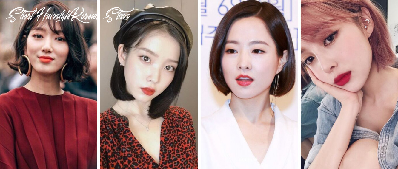 8 trendy short hairstyles inspired by your favourite korean female