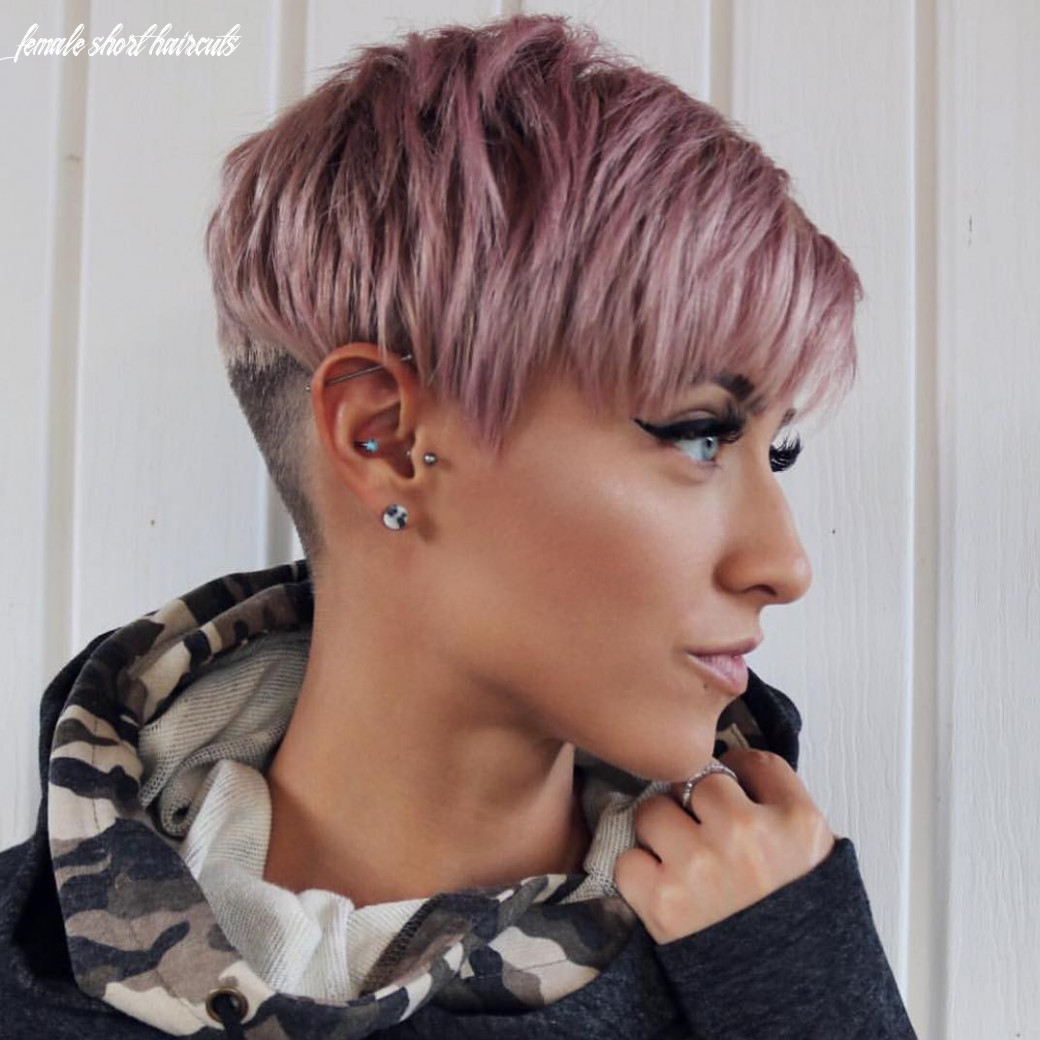 8 trendy very short haircuts for female, cool short hair styles 8 female short haircuts