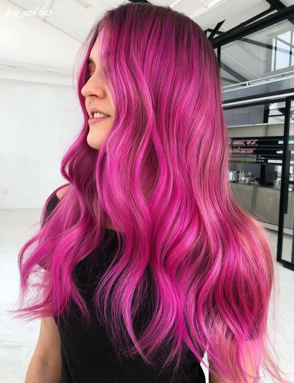8 unbelievably cool pink hair color ideas for 8 hair adviser long pink hair