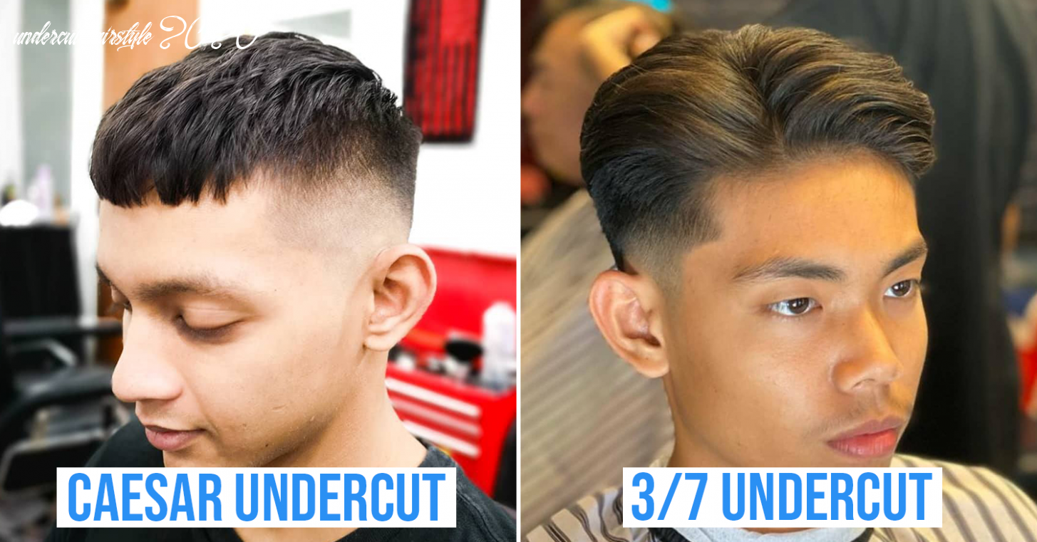 8 Undercut Hairstyles For Guys In 8 With New Variations So You ...