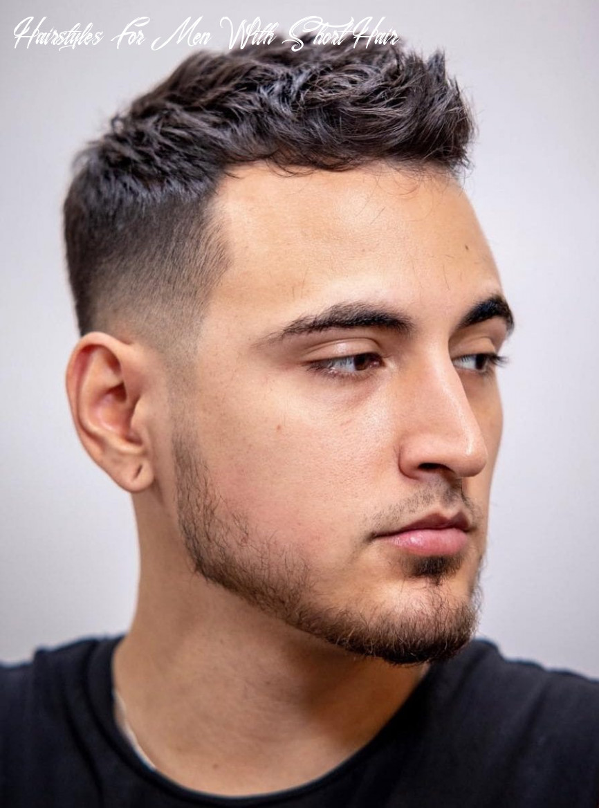 8 unique short hairstyles for men styling tips hairstyles for men with short hair