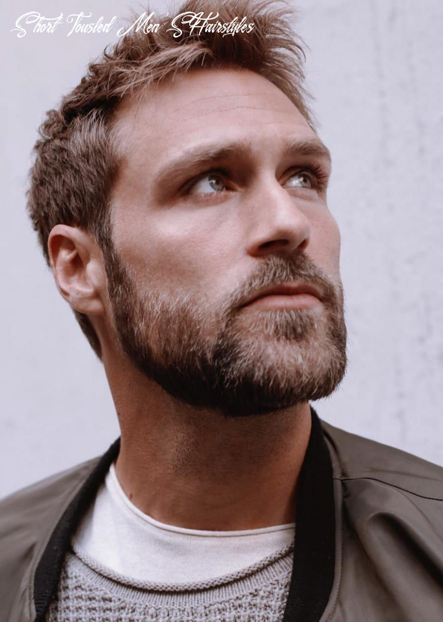 8 unique short hairstyles for men styling tips | mens