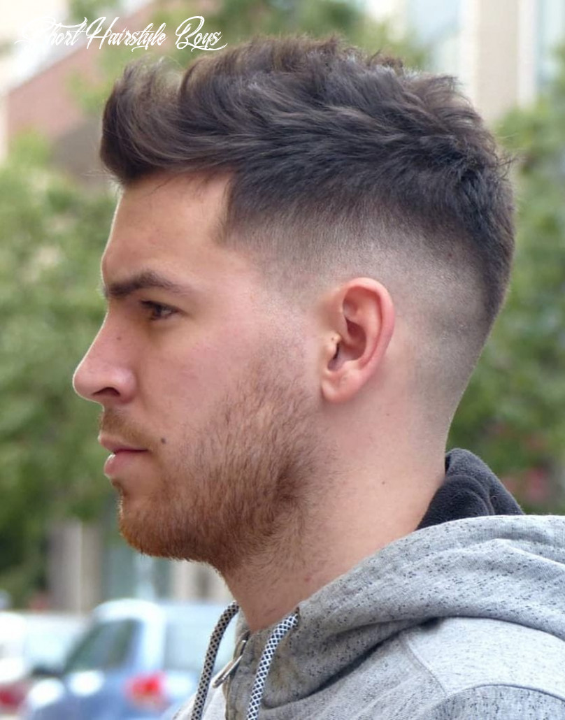 8 unique short hairstyles for men styling tips short hairstyle boys