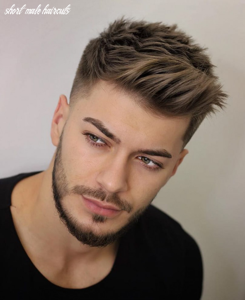 8 unique short hairstyles for men styling tips short male haircuts