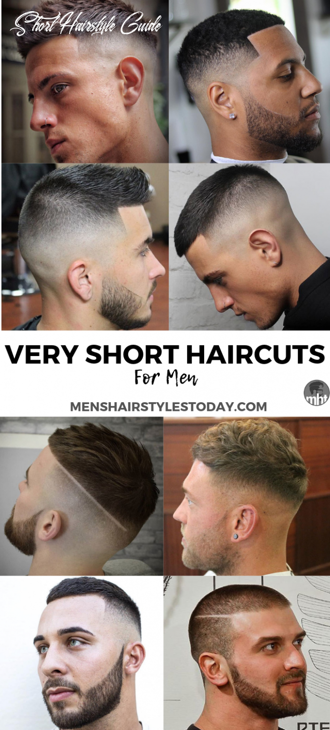8 very short hairstyles for men (8 guide) | mens haircuts