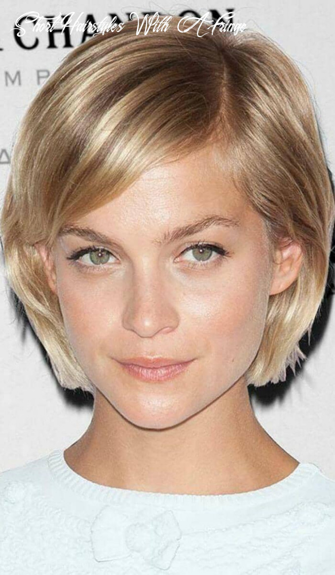 8 ways to wear short hair with bangs for a fresh new look short hairstyles with a fringe
