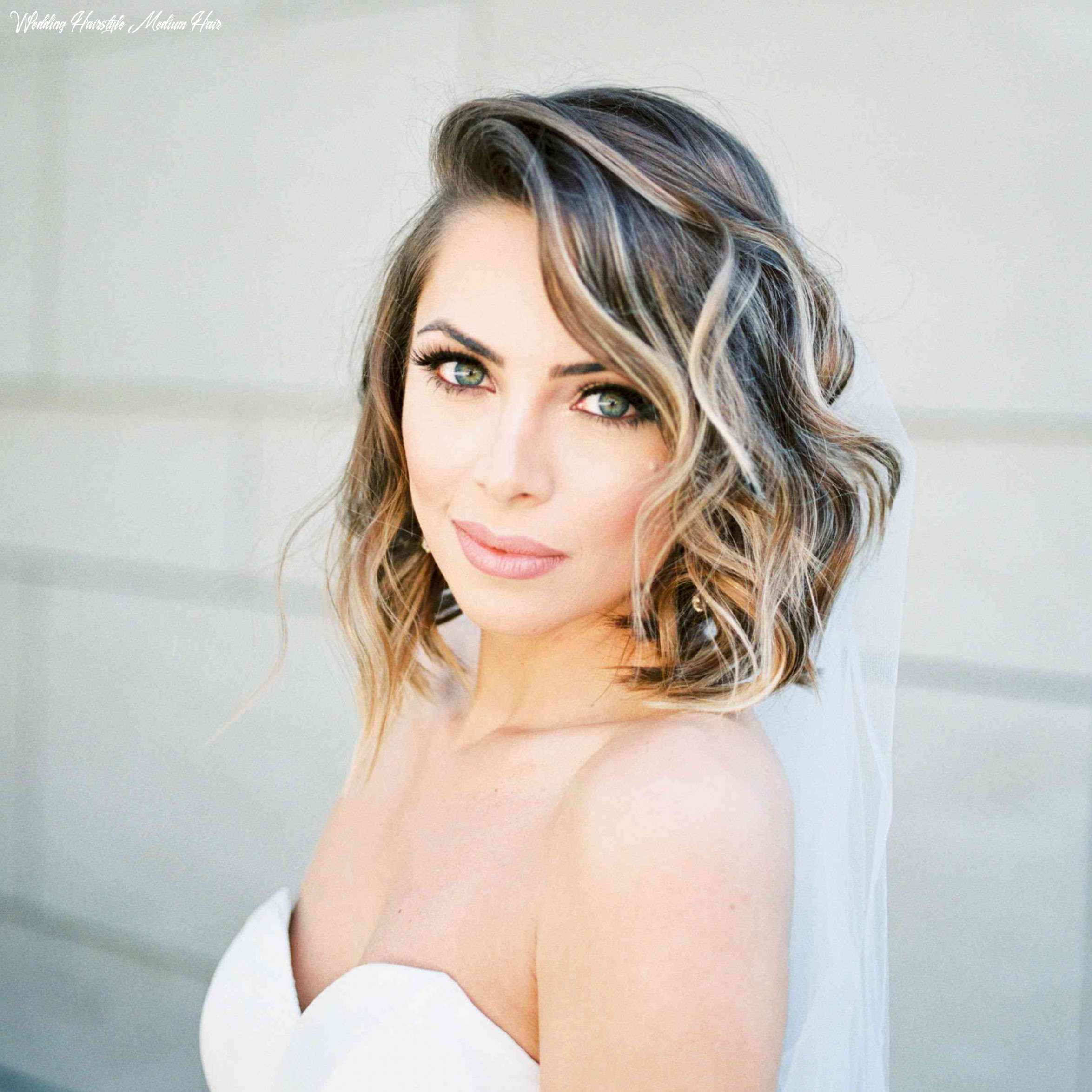 8 wedding hairstyles for medium length hair wedding hairstyle medium hair