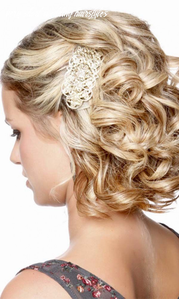 8 wedding hairstyles for short hair | formal hairstyles for short