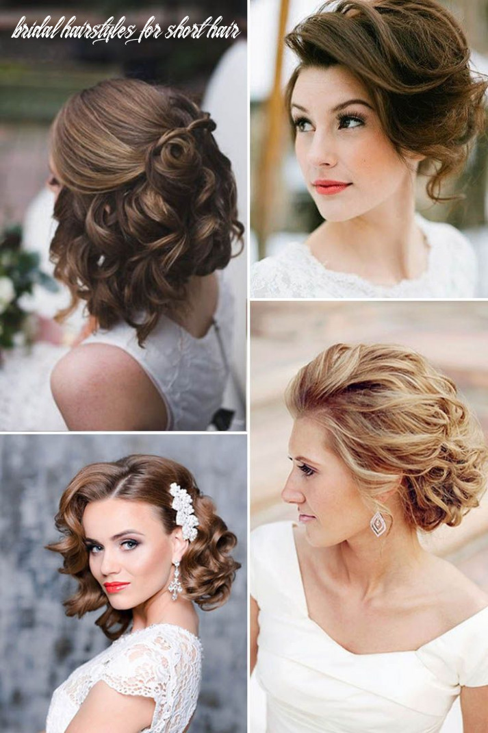 8 Wedding Hairstyles For Short Hair | Short wedding hair, Curly ...