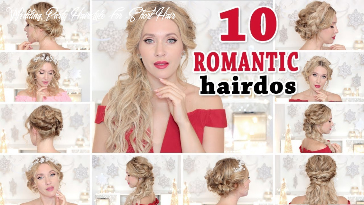 8 wedding party hairstyles ★ hair tutorial for short, medium and long hair back to school wedding party hairstyle for short hair