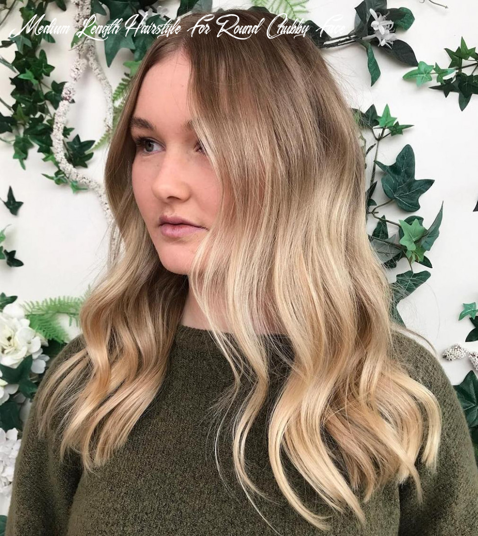9 amazing haircuts for round faces hair adviser medium length hairstyle for round chubby face