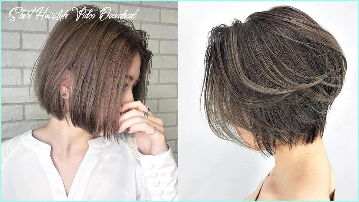 9 amazing short haircut for women 😍professional haircut #9 short hairstyle video download