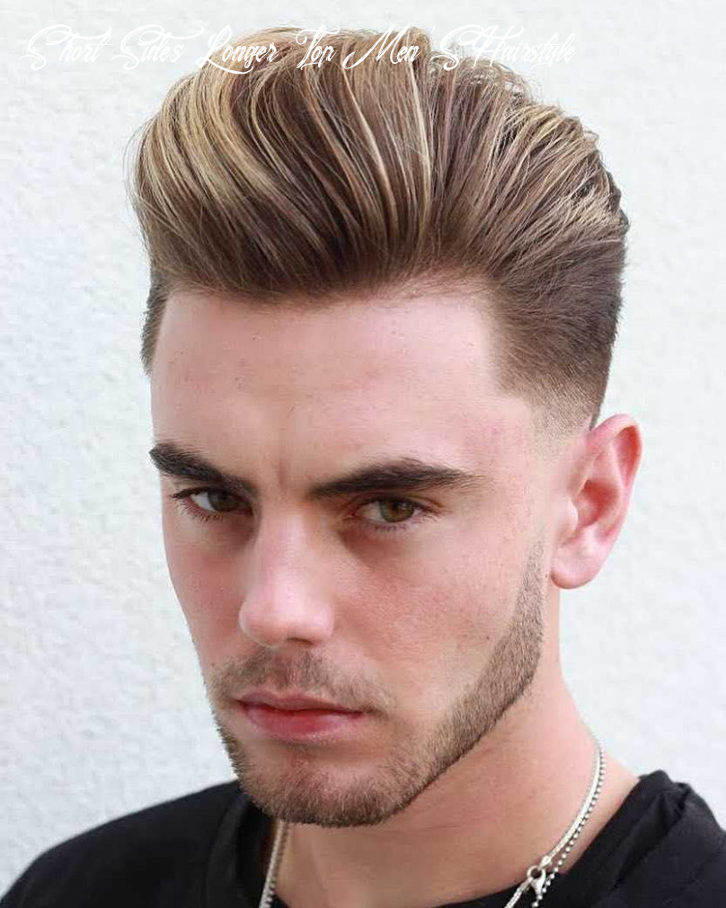 9 awesome examples of short sides, long top haircuts for men