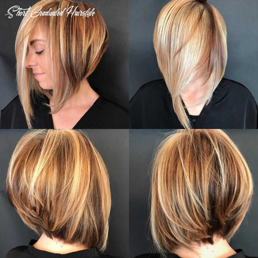 9 beautiful and classy graduated bob haircuts | frisuren, haar