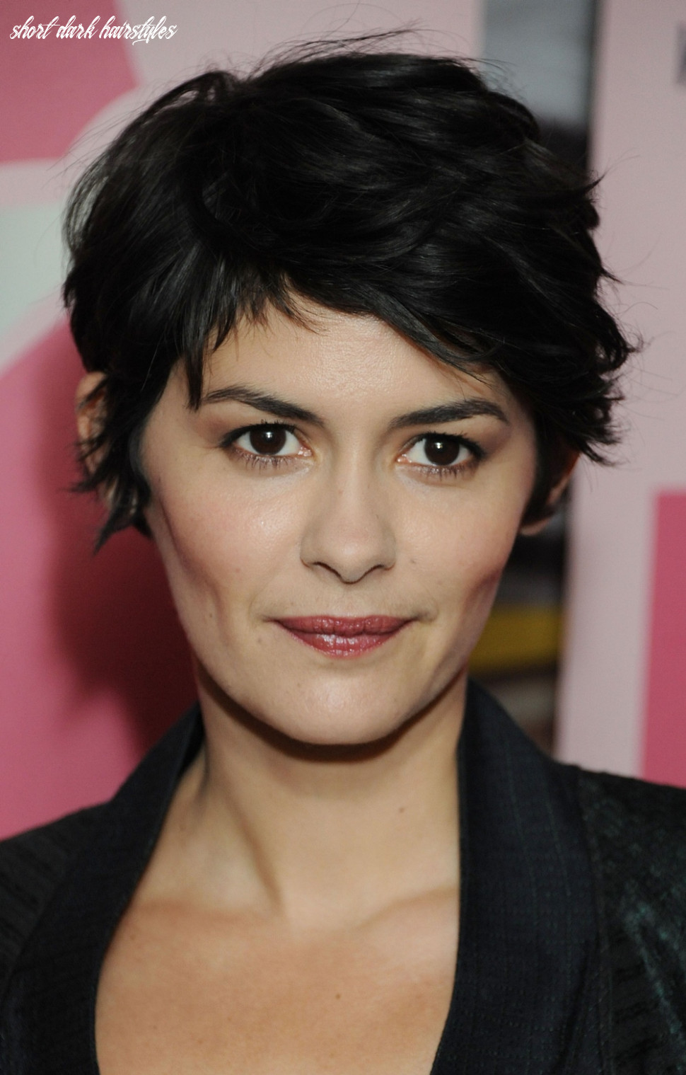 9 beautiful short dark hairstyles you can try today short dark hairstyles