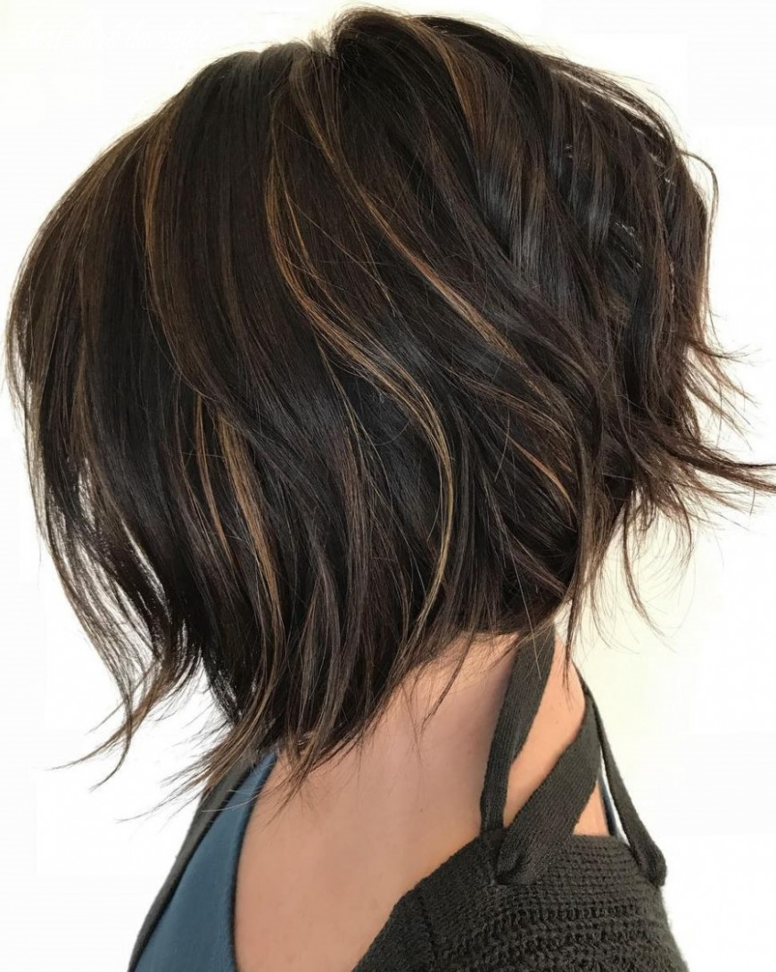 9 Beautiful Short Dark Hairstyles You Can Try Today