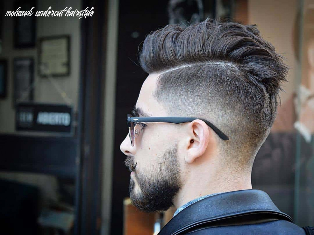 9 best disconnected undercuts for any men – hairstylecamp mohawk undercut hairstyle