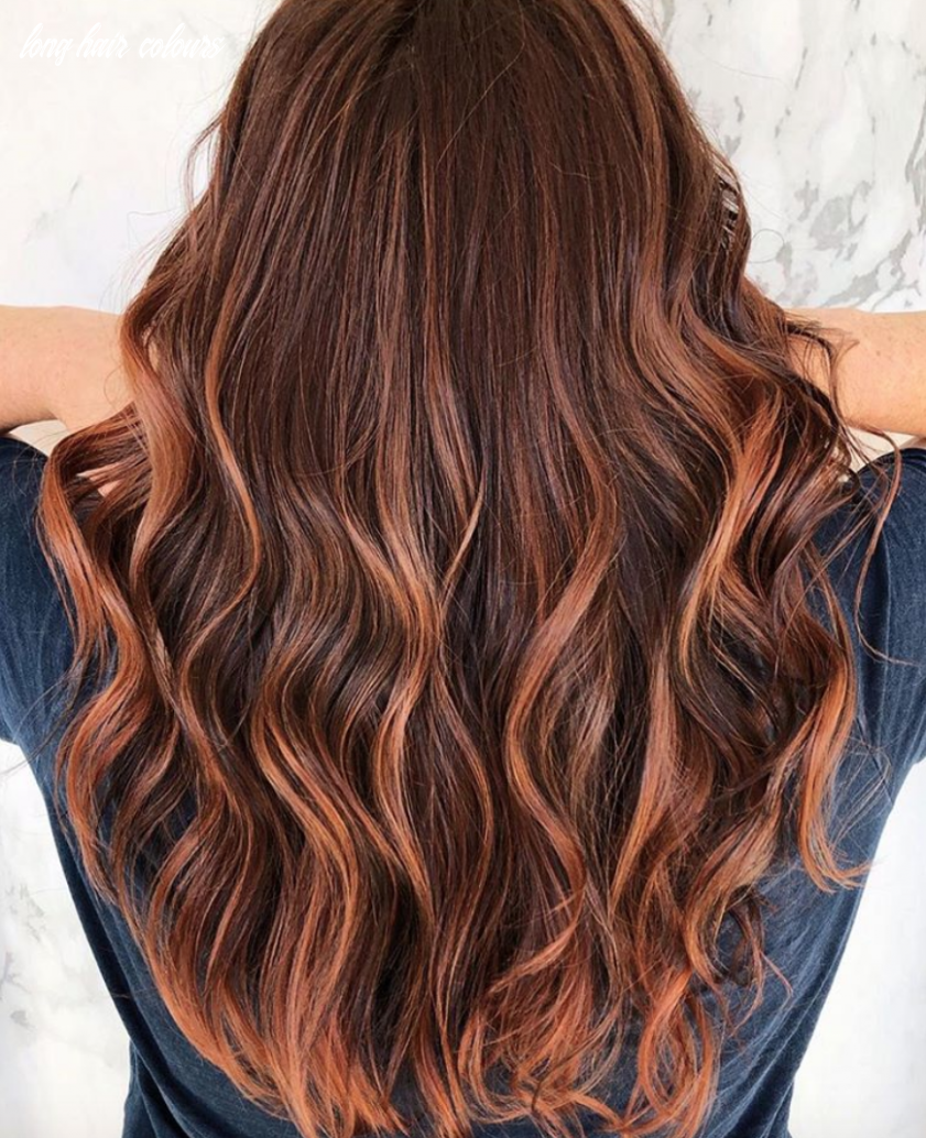 9 best hair color trends and ideas for 99 | glamour long hair colours