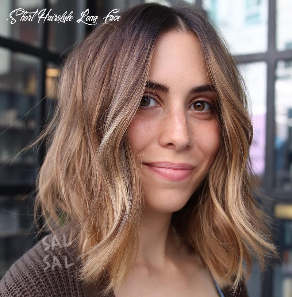 9 best haircuts for long faces in 9 hair adviser short hairstyle long face