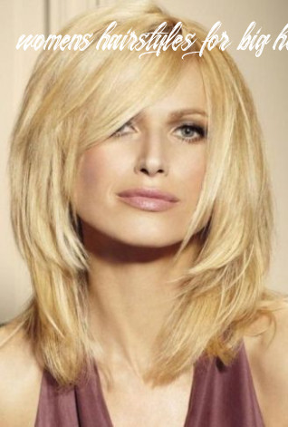 9 best hairstyles for big face shapes of women | styles at life womens hairstyles for big heads