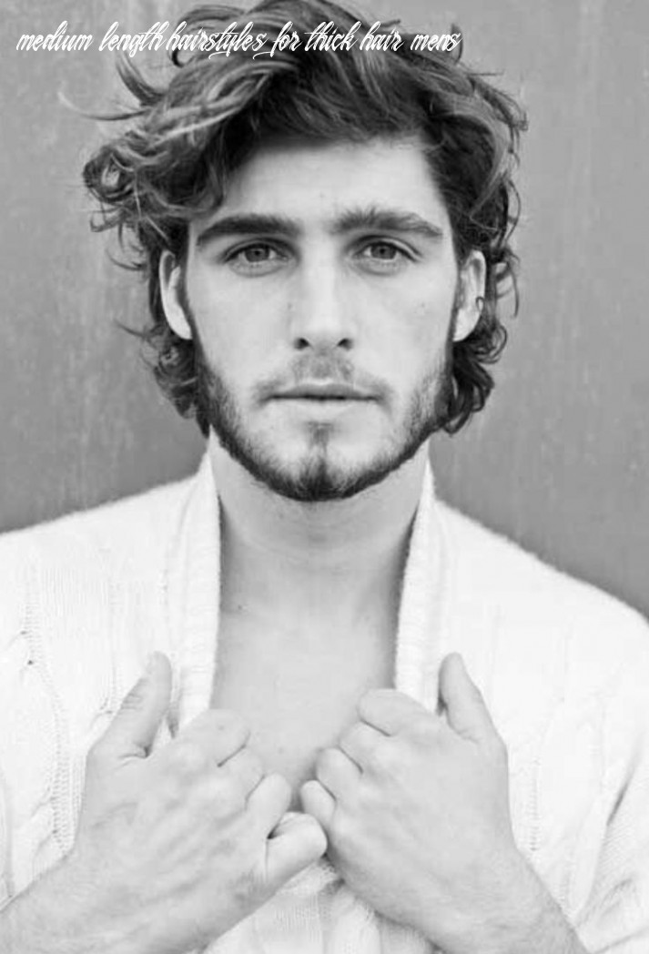 9 best hairstyles for men with thick hair   long hair styles men