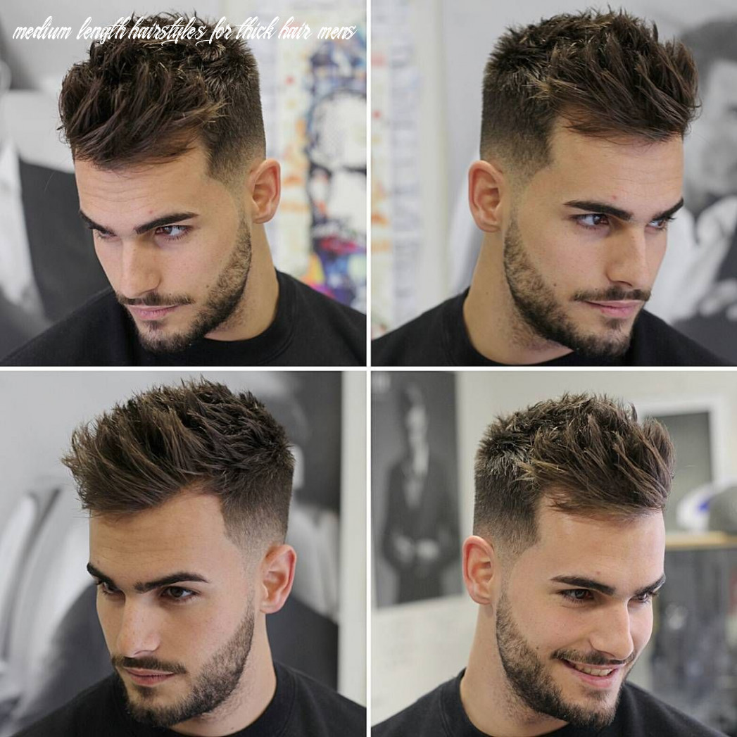 9 Best Hairstyles For Thick Hair - [Trendy in 9] | Mens ...